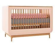 Berço Aurora - Rosê e Wood | WestwingNow