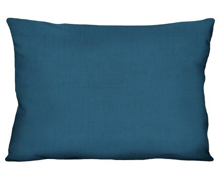 Capa de Almofada em Linho Misto Holly - Azul Marinho | WestwingNow