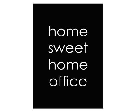 Placa de Madeira Decorativa Home Sweet Home Office   WestwingNow