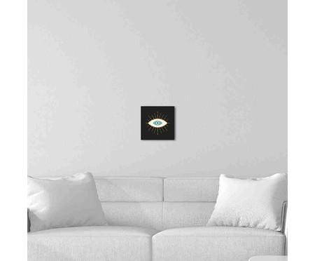 Placa de Madeira Decorativa Olho | WestwingNow