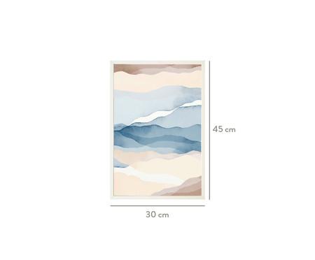 Quadro com Vidro Abstrato Rhea - 30x45   WestwingNow