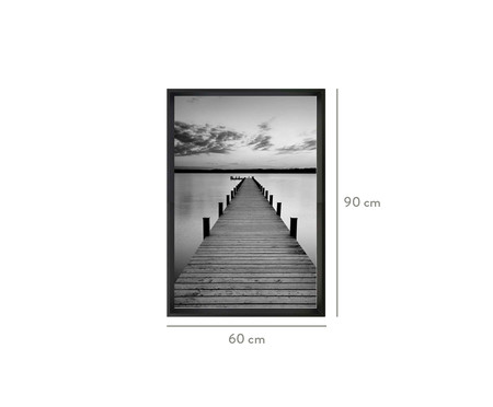 Quadro com Vidro Corinne - 60x90   WestwingNow