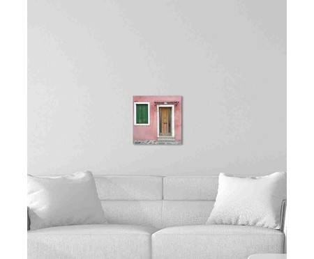Placa de Madeira Decorativa Door   WestwingNow