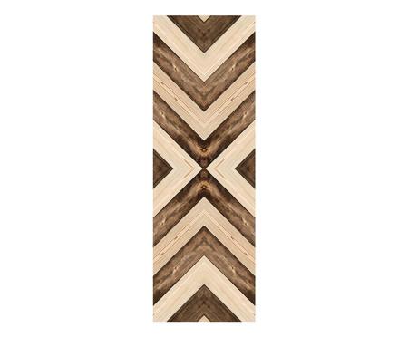 Placa de Madeira Decorativa Geometrica   WestwingNow