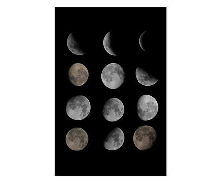 Placa de Madeira Decorativa Fases da Lua | WestwingNow