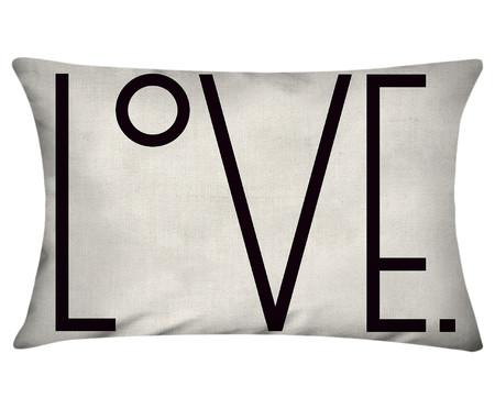 Capa de Almofada em Linho Misto Love Jacob | WestwingNow