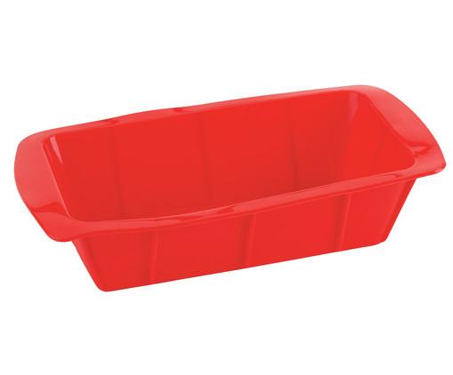 Forma para Bolo de Silicone Layla - Vermelha, Vermelho | WestwingNow