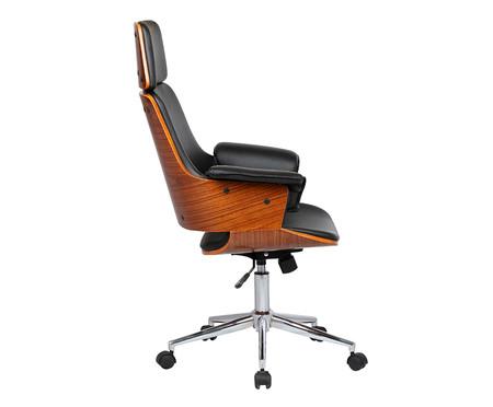 Cadeira de Escritório com Rodízio Ginger - Preto | WestwingNow