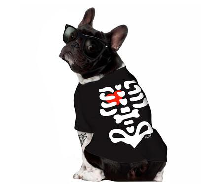 Camiseta para Cachorro Skeleton - Preta   WestwingNow