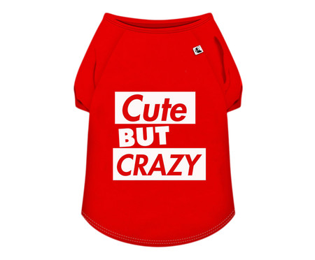 Camiseta para Cachorro Bard - Vermelha   WestwingNow