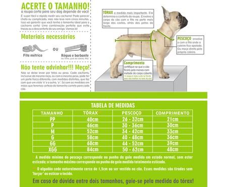 Camiseta para Cachorro Tongue - Branca   WestwingNow
