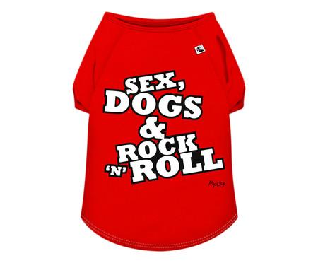 Camiseta para Cachorro Roll - Vermelha   WestwingNow