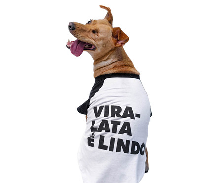Camiseta para Cachorro Mutt - Branca   WestwingNow