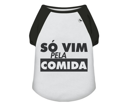 Camiseta para Cachorro Snack - Branca   WestwingNow