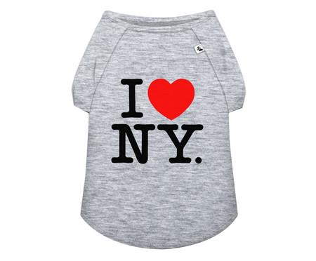 Camiseta para Cachorro NY - Cinza   WestwingNow