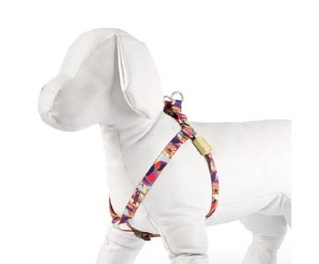 Peitoral para Cachorro Raspberry - Colorido | WestwingNow