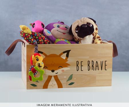 Caixa Organizadora Be Brave Raposa | WestwingNow