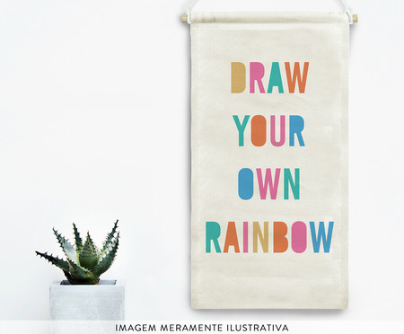 Flâmula Decorativa Draw Your Own Rainbow   WestwingNow