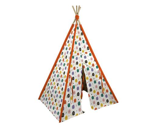 Tenda Indoor Trancoso Dots Laranja, Colorido   WestwingNow
