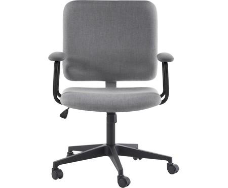 Cadeira Office Chicago - Cinza e Preta | WestwingNow