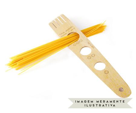 Garfo Medidor para Spaghetti Mansur - Natural | WestwingNow