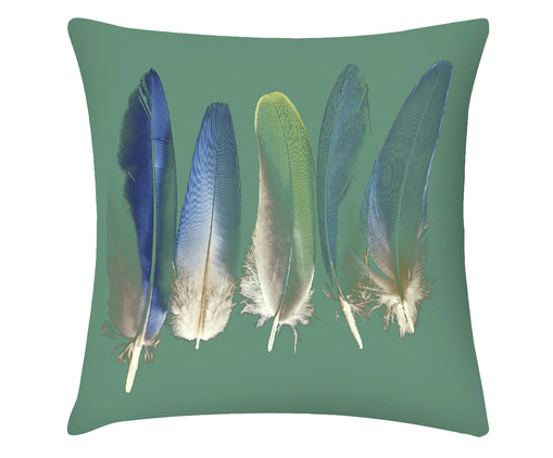 Capa de Almofada em Linho Misto Iris, Colorido | WestwingNow