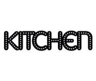 Placa de Madeira Decorativa Kitchen - Preta | WestwingNow