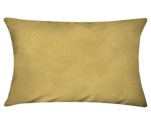 Capa de Almofada em Linho Misto Lauren - Amarelo Escuro, Amarelo   WestwingNow