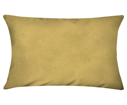 Capa de Almofada em Linho Misto Lauren - Amarela, Amarelo | WestwingNow