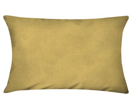 Capa de Almofada em Linho Misto Lauren - Amarelo Escuro | WestwingNow
