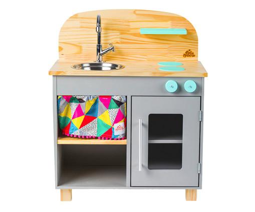 Mini Cozinha - Cinza, Cinza | WestwingNow