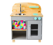 Mini Cozinha - Cinza | WestwingNow