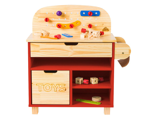 Mini Oficina - Vermelha, Vermelho   WestwingNow