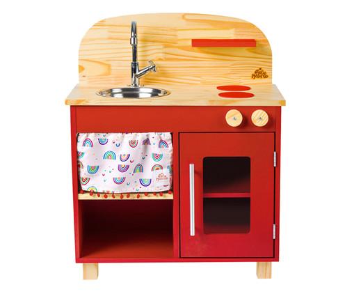 Mini Cozinha - Vermelha, Vermelho | WestwingNow
