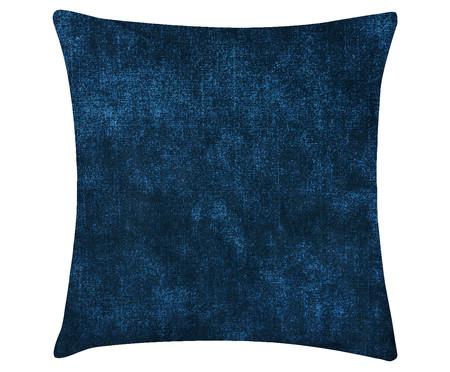 Capa de Almofada em Linho Misto Naomi - Azul | WestwingNow