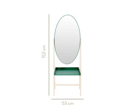 Estante com Espelho Loa - Verde   WestwingNow