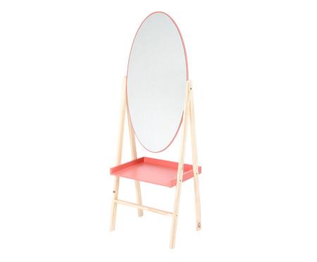 Estante com Espelho Loa - Terracota   WestwingNow
