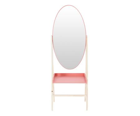Estante com Espelho Loa - Terracota | WestwingNow
