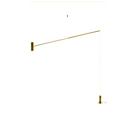 Luminária de Chão em Led 7W Durin Dourado - Bivolt   WestwingNow
