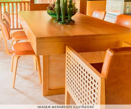 Mesa de Jantar Retangular Andaluzia - Rommã | WestwingNow
