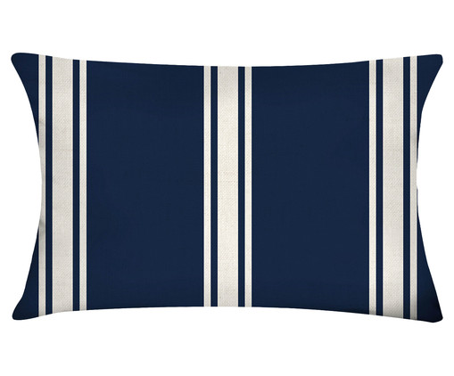 Capa de Almofada em Algodão George, Azul | WestwingNow