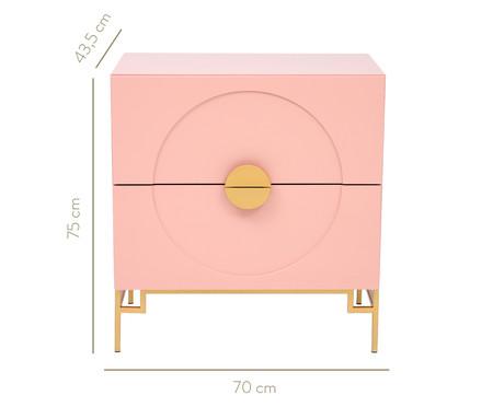 Cômoda Cerchio D'Oro - Rosa | WestwingNow