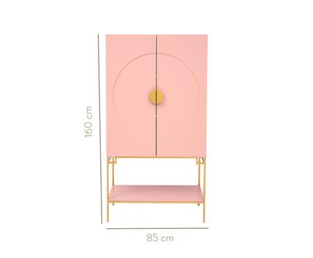 Cristaleira Cerchio D'Oro - Rosa | WestwingNow
