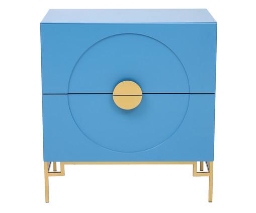 Cômoda Cerchio D'Oro Lazuli - Azul, Azul   WestwingNow