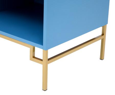 Mesa Lateral Cerchio D'Oro com Nicho Lazuli - Azul | WestwingNow