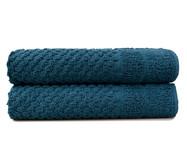 Jogo de Toalhas De Piso Studio - Azul | WestwingNow