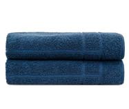 Jogo de Toalhas de PisoSofisticata - Azul | WestwingNow