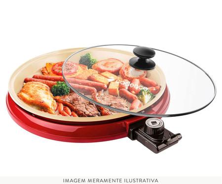 Grill Ceramic Pan Cadence - Vermelho | WestwingNow