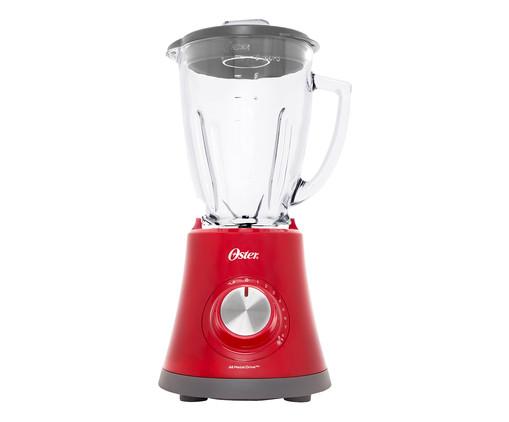 Liquidificador Super Chef 8 Velocidades Oster - Vermelho, Vermelho   WestwingNow