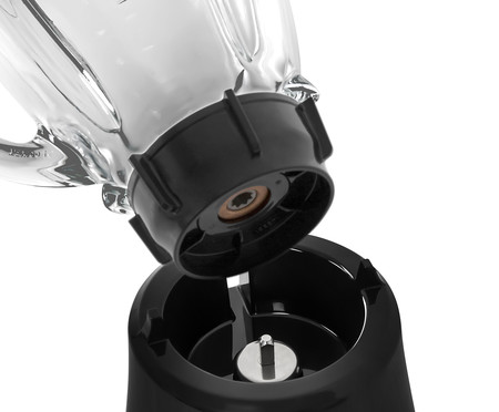 Liquidificador Super Chef 8 Velocidades Oster - Preto | WestwingNow